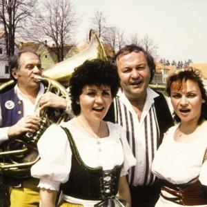 Ladislav Kubeš, Blanka Tůmová, Milan Černohouz a Ivana Jelínková.