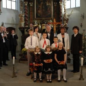 Veselka und Kinderchor Špalíček unter der Leitung von Prof. Hana Metelková