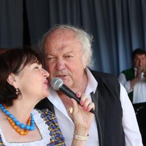 Blanka Tůmová und Milan Černohouz