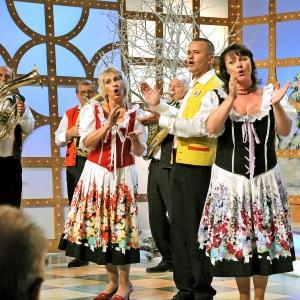 Zpěváci Iva Ročková, Radek Klusoň a Iva Jelínková
